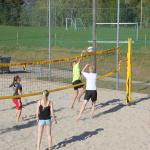 Sandvolleyballbanen, Siljan Idrettspark