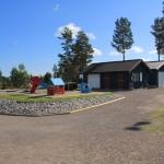Lekeplassen og kiosken, Siljan Idrettspark